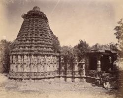 General view of the Dodda Basappa (Great Nandi) Temple, Dambal